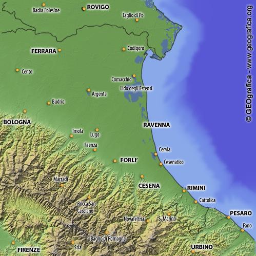 Le previsioni del tempo in Romagna, per oggi e per i  prossimi giorni!