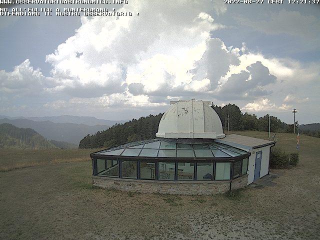 Webcam Monte Romano (RA) - 767 m. slm